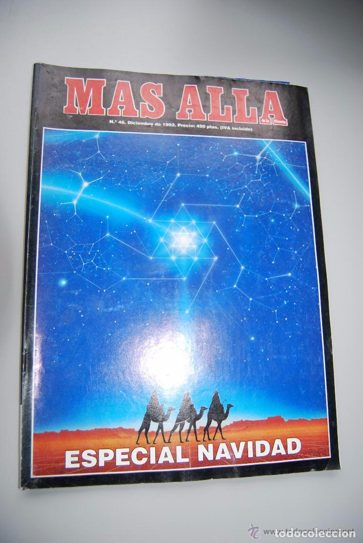 MAS ALLÁ NUMERO 46 AÑO 1992 ESPECIAL NAVIDAD (Coleccionismo - Revistas y Periódicos Modernos (a partir de 1.940) - Revista Más Allá)