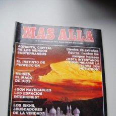 Coleccionismo de Revista Más Allá: MAS ALLÁ NUMERO 31 AÑO 1991 AGHARTA-MOISES, EL MAGO DE DIOS-LOS SIKHS --REFSAMUESC. Lote 85141880