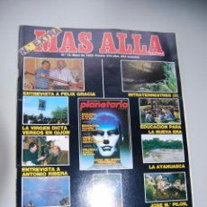 Coleccionismo de Revista Más Allá: MAS ALLÁ NUMERO 15 AÑO 1990 - FELIX GRACIA-INTRATERRESTRES-LA VIRGEN GIJÓN- AYAHUASCA --REFSAMUESC. Lote 85142012