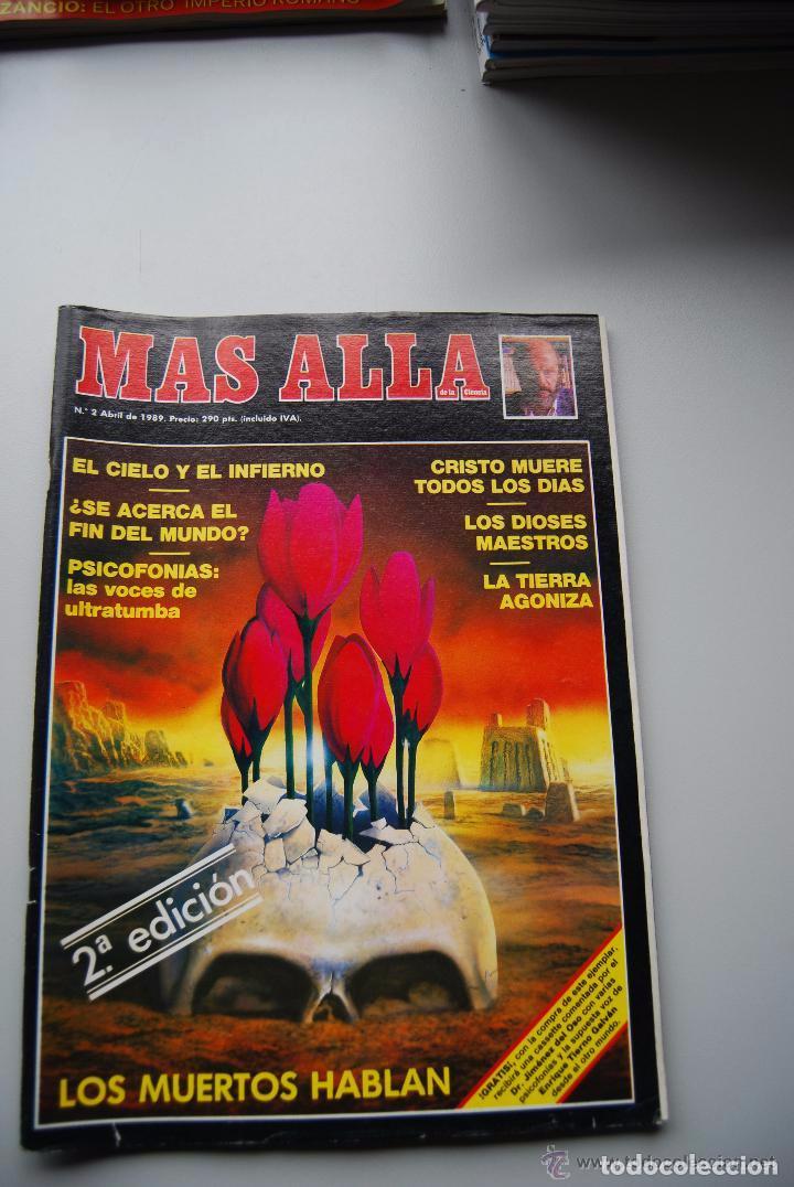 MAS ALLA NUMERO 2 AÑO 1989 - LOS MUERTOS HABLAN-CIELO E INFIERNO-DIOSES MAESTROS-PSICO (Coleccionismo - Revistas y Periódicos Modernos (a partir de 1.940) - Revista Más Allá)