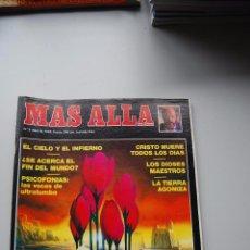 Coleccionismo de Revista Más Allá: MAS ALLA NUMERO 2 AÑO 1989 - LOS MUERTOS HABLAN-CIELO E INFIERNO-DIOSES MAESTROS-PSICO --REFSAMUESC. Lote 85142376