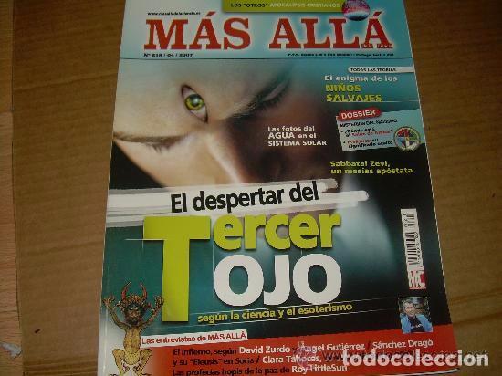 MAS ALLA 218 --REFSAMUESC (Coleccionismo - Revistas y Periódicos Modernos (a partir de 1.940) - Revista Más Allá)