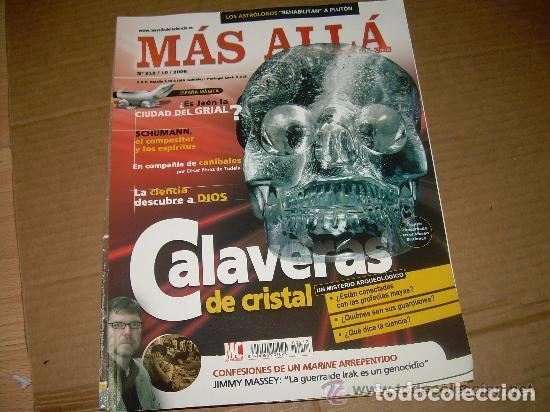 MAS ALLA 212 (Coleccionismo - Revistas y Periódicos Modernos (a partir de 1.940) - Revista Más Allá)