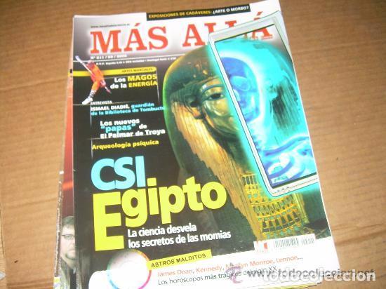 MAS ALLA 211 (Coleccionismo - Revistas y Periódicos Modernos (a partir de 1.940) - Revista Más Allá)