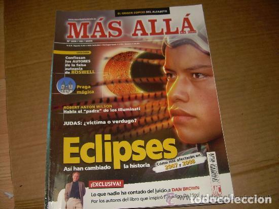 MAS ALLA 208 (Coleccionismo - Revistas y Periódicos Modernos (a partir de 1.940) - Revista Más Allá)