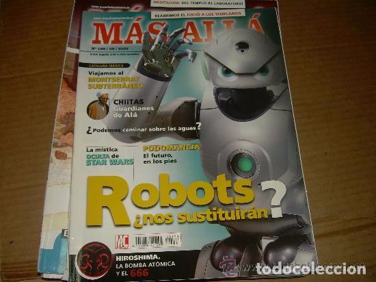 MAS ALLA 198 (Coleccionismo - Revistas y Periódicos Modernos (a partir de 1.940) - Revista Más Allá)