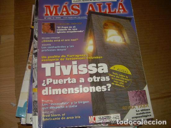 MAS ALLA 180 --REFSAMUESC (Coleccionismo - Revistas y Periódicos Modernos (a partir de 1.940) - Revista Más Allá)