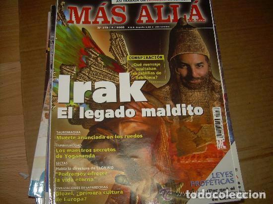 MAS ALLA 172 (Coleccionismo - Revistas y Periódicos Modernos (a partir de 1.940) - Revista Más Allá)