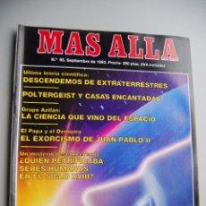 Coleccionismo de Revista Más Allá: MAS ALLÁ N 55 AÑO 1993 - POLTERGEIST-DESCENDEMOS DE EXTRATERRESTRES --REFSAMUESC. Lote 85162536