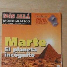 Coleccionismo de Revista Más Allá: 1 REVISTA ** MÁS ALLÁ - MARTE PLANETA INCÓGNITO ** - Nº 41 11- 2002. Lote 207434163