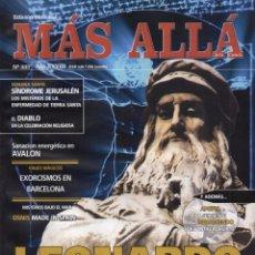 Coleccionismo de Revista Más Allá: MAS ALLA N. 337 - EN PORTADA: LEONARDO DA VINCI (NUEVA). Lote 87240708