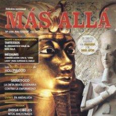 Coleccionismo de Revista Más Allá: MAS ALLA N. 338 - EN PORTADA: LOS MIL ROSTROS DE AKHENATON (NUEVA). Lote 87355220