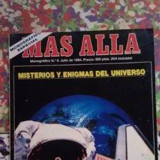 Coleccionismo de Revista Más Allá: MISTERIOS Y ENIGMAS DEL UNIVERSO - MAS ALLA - MONOGRAFICO ESPECIAL. Lote 88996952