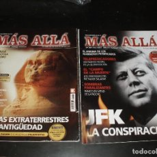 Coleccionismo de Revista Más Allá: REVISTA MAS ALLA JFK CONSPIRACION,EXTRATERRESTRES EN LA ANTIGUEDAD.2 REVISTAS. Lote 93789375
