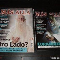 Coleccionismo de Revista Más Allá: REVISTA MAS ALLA CURANDEROS,QUE HAY AL OTRO LADO?.2 REVISTAS. Lote 93789450