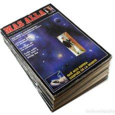 Coleccionismo de Revista Más Allá: LOTE 19 REVISTAS PRIMEROS NUMEROS 1 AL 19 (1989-1990), BUEN ESTADO, REVISTA. Lote 94669439