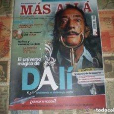 Coleccionismo de Revista Más Allá: MAS ALLA Nº 213 EL UNIVERSO MAGICO DALI ANALIZAMOS SIMBOLOGIA OCULTA VARIOS. Lote 95348455