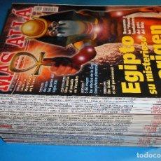 Coleccionismo de Revista Más Allá: LOTE 28 MÁS ALLÁ. VER LISTA Y FOTOS DE CADA PORTADA (2000-2004). Lote 95616527