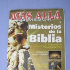 Coleccionismo de Revista Más Allá: REVISTA MÁS ALLÁ LO MEJOR, MISTERIOS DE LA BIBLIA, ENERO 2002. Lote 152290664