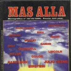 Coleccionismo de Revista Más Allá: MÁS ALLÁ MONOGRÁFICO Nº 18. JC ED. 1996. FENÓMENOS PARANORMALES QUE CAMBIARON LA HISTORIA.. Lote 97943571