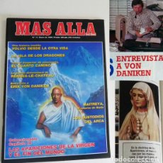 Coleccionismo de Revista Más Allá: REVISTA MÁS ALLÁ 11 1990 ENTREVISTA A ERIK VON DANIKEN MISTERIO APARICIONES MARIANAS CUSTODIOS ARCA. Lote 98242095
