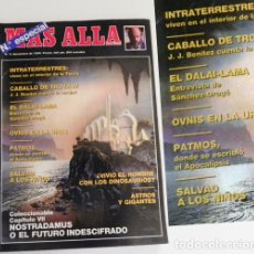 Coleccionismo de Revista Más Allá: REVISTA MÁS ALLÁ 9 1989 ESPECIAL - MISTERIO OVNIS EN LA URSS DALAI LAMA DRAGÓ JJ BENÍTEZ CABALLO DE. Lote 98482751