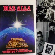 Coleccionismo de Revista Más Allá: REVISTA MÁS ALLÁ 10 1989 MISTERIO - ZODIACO MAYA VIDENTE DE HITLER - PUNTO OMEGA VIDENTES Y PROFETAS. Lote 98529423