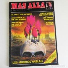 Coleccionismo de Revista Más Allá: REVISTA MÁS ALLÁ Nº 2 1989 - MISTERIO ESOTERISMO JIMÉNEZ DEL OSO PSICOFONÍAS MUERTOS CIELO INFIERNO. Lote 98641819