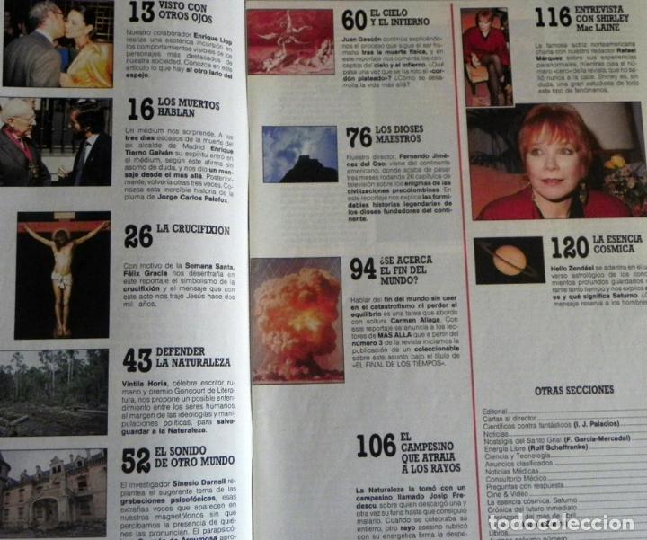 Coleccionismo de Revista Más Allá: REVISTA MÁS ALLÁ Nº 2 1989 - MISTERIO ESOTERISMO JIMÉNEZ DEL OSO PSICOFONÍAS MUERTOS CIELO INFIERNO - Foto 2 - 98641819