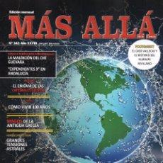 Coleccionismo de Revista Más Allá: MAS ALLA N. 343 - EN PORTADA: LOS MISTERIOS SIN RESOLVER DEL MUNDO (NUEVA). Lote 100025607