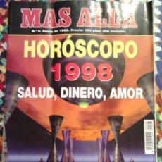 Coleccionismo de Revista Más Allá: REVISTA MAS ALLA Nº 8 ENERO DE 1998. Lote 101781279