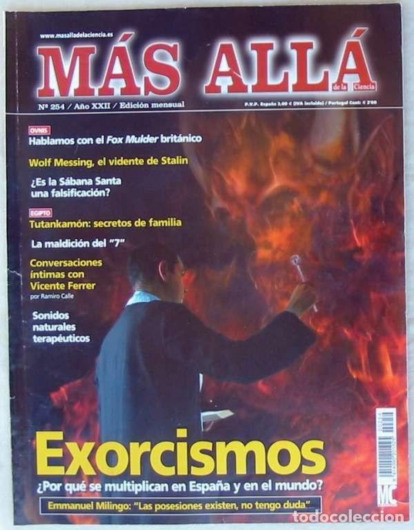 REVISTA MAS ALLÁ DE LA CIENCIA - Nº 254 - MC EDICIONES - VER ÍNDICE (Coleccionismo - Revistas y Periódicos Modernos (a partir de 1.940) - Revista Más Allá)