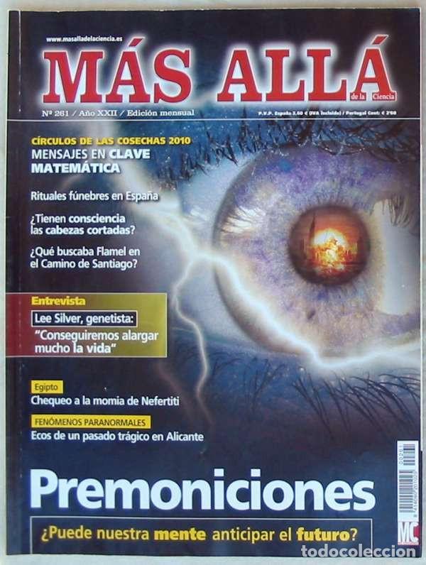 REVISTA MAS ALLÁ DE LA CIENCIA - Nº 261 - MC EDICIONES - VER ÍNDICE (Coleccionismo - Revistas y Periódicos Modernos (a partir de 1.940) - Revista Más Allá)