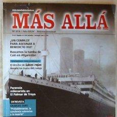 Coleccionismo de Revista Más Allá: REVISTA MAS ALLÁ DE LA CIENCIA - Nº 278 - MC EDICIONES - VER ÍNDICE. Lote 113740235