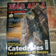Coleccionismo de Revista Más Allá: MÁS ALLÁ - Nº 133 - CATEDRALES LAS PIRÁMIDES DE EUROPA - AEROLITOS - SANADORES. Lote 102485611