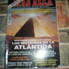 Coleccionismo de Revista Más Allá: REVISTA MÁS ALLÁ - Nº 107 - ENERO DE 1998 -LOS MISTERIOS DE LA ATLANTIDA. Lote 102584975