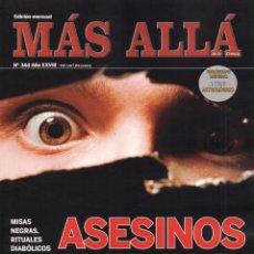 Coleccionismo de Revista Más Allá: MAS ALLA N. 344 - EN PORTADA: ASESINOS DE OTRO MUNDO (NUEVA). Lote 103744439