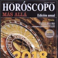 Coleccionismo de Revista Más Allá: MAS ALLA HOROSCOPO 2018 N. 31 - UN AÑO DE OPORTUNIDADES (NUEVA). Lote 103744563