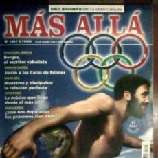 Coleccionismo de Revista Más Allá: REVISTA MÁS ALLÁ N.º 186 AGOSTO 2004 - HISTORIA OCULTA DE LAS OLIMPÍADAS, ESPRITISMO, NUEVA ERA. Lote 54548377