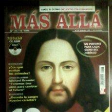 Coleccionismo de Revista Más Allá: MÁS ALLÁ N.º 176/10/2003 - PRUEBAS EXISTENCIA JESÚS, OVNIS, HUMANOIDES, SANGRE, MICHAEL DROSNIN. Lote 54548721
