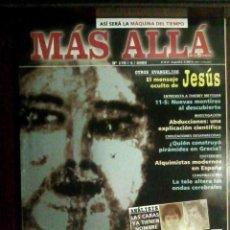 Coleccionismo de Revista Más Allá: REVISTA MÁS ALLÁ N.º 170 ABRIL 2003 - CARAS DE BÉLMEZ, JESÚS, ABDUCCIONES, 11-S, ALQUIMIA. Lote 54548344