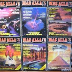 Coleccionismo de Revista Más Allá: LOTE 9 REVISTAS MÁS ALLÁ NUMEROS 2 AL 10. FALTA EL 1. Lote 107445103