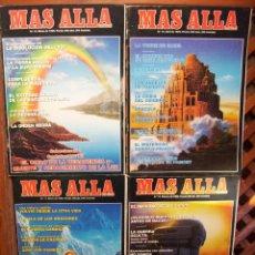 Coleccionismo de Revista Más Allá: LOTE 8 REVISTAS MÁS ALLÁ NUMEROS 11 AL 20. FALTA EL 16 Y EL 19. Lote 107445503