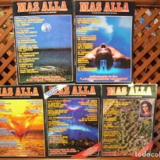 Coleccionismo de Revista Más Allá: LOTE 9 REVISTAS MÁS ALLÁ NUMEROS 21 AL 30. FALTA EL 25. Lote 107445751