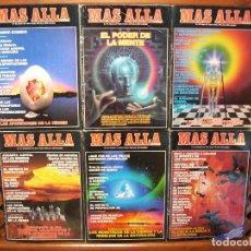 Coleccionismo de Revista Más Allá: LOTE 6 REVISTAS MÁS ALLÁ NUMEROS 31 AL 40. FALTAN EL 33,36,38 Y 40. Lote 107446091