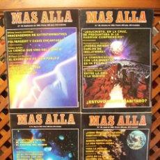 Coleccionismo de Revista Más Allá: LOTE 7 REVISTAS MÁS ALLÁ NUMEROS 51 AL 60 . FALTA EL 53 , EL 54 Y EL 60. Lote 107446943