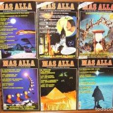 Coleccionismo de Revista Más Allá: LOTE 7 REVISTAS MÁS ALLÁ NUMEROS 61, 62,63,64,67 Y 75. Lote 107447239