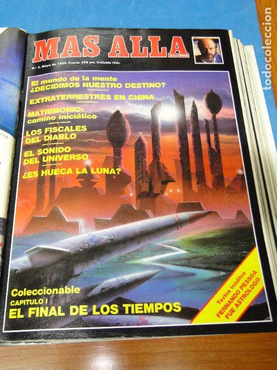 Coleccionismo de Revista Más Allá: UNA CARPETA CONTENIENDO LOS 12 PRIMEROS NÚMEROS 1ª EDICION,AÑO1989 - Foto 4 - 107506147