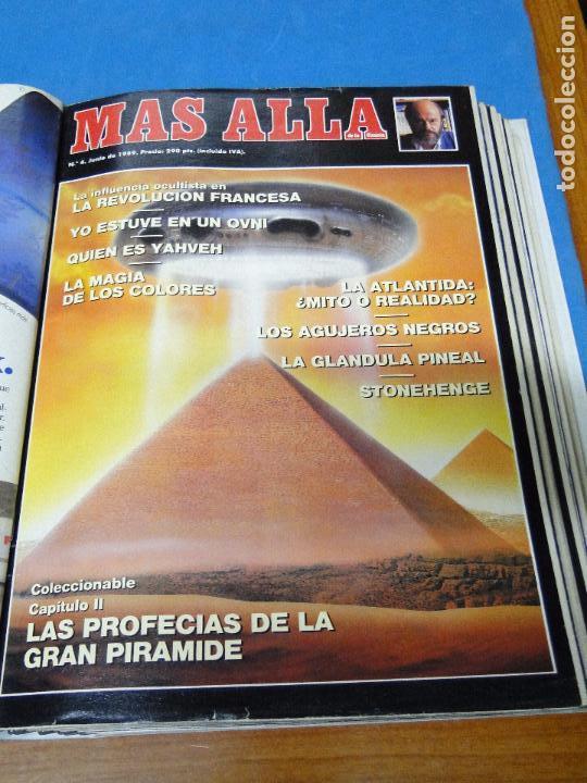 Coleccionismo de Revista Más Allá: UNA CARPETA CONTENIENDO LOS 12 PRIMEROS NÚMEROS 1ª EDICION,AÑO1989 - Foto 5 - 107506147