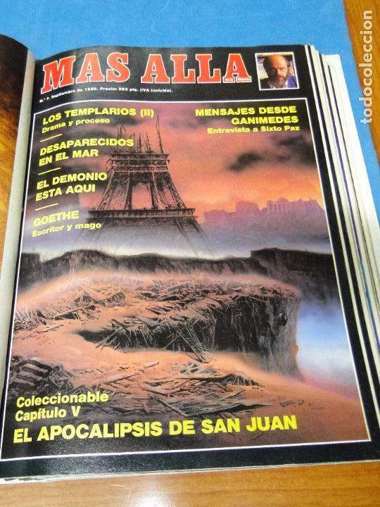 Coleccionismo de Revista Más Allá: UNA CARPETA CONTENIENDO LOS 12 PRIMEROS NÚMEROS 1ª EDICION,AÑO1989 - Foto 7 - 107506147